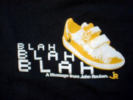 Blah Blah Blah Shoe shirt