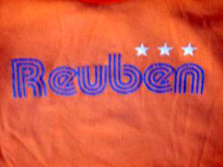 Orange Reuben Shirt